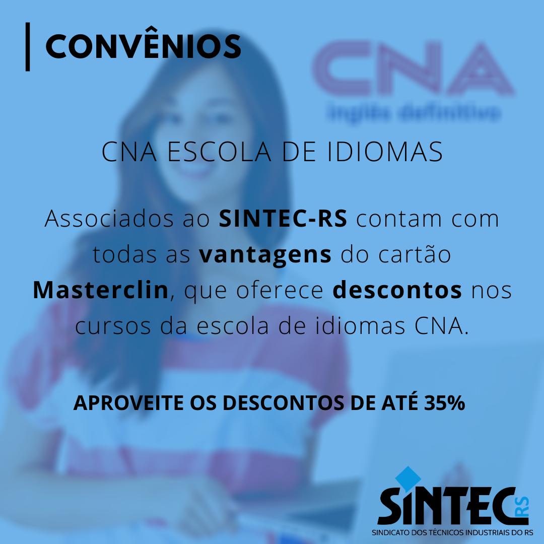 Convênios: CNA Escola De Idiomas