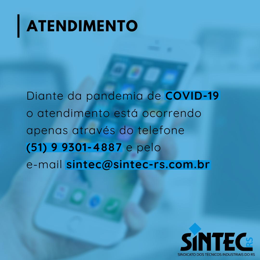 Atendimento SINTEC-RS