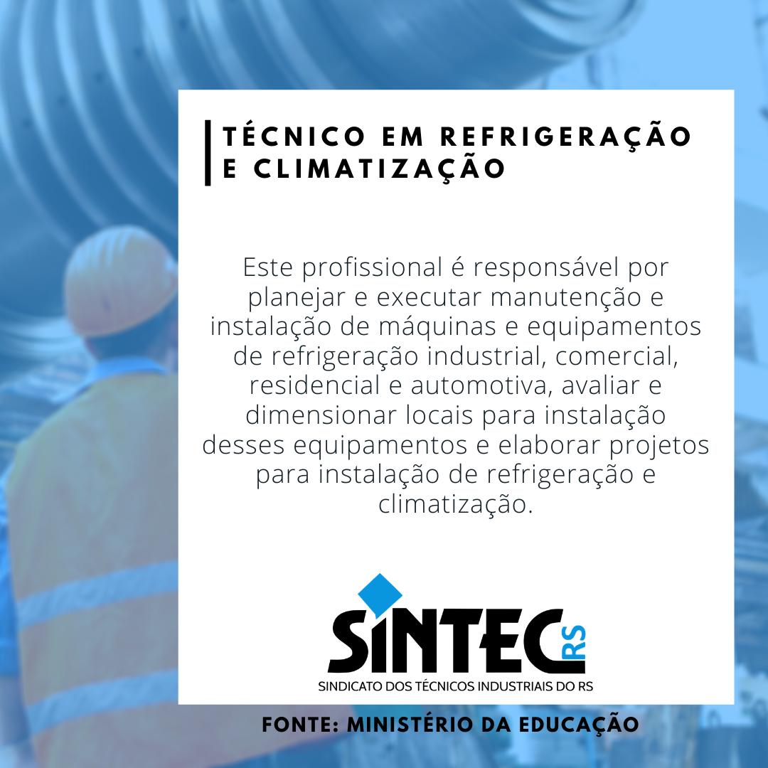 Quem São Os Técnicos Industriais: Técnico Em Refrigeração E Climatização