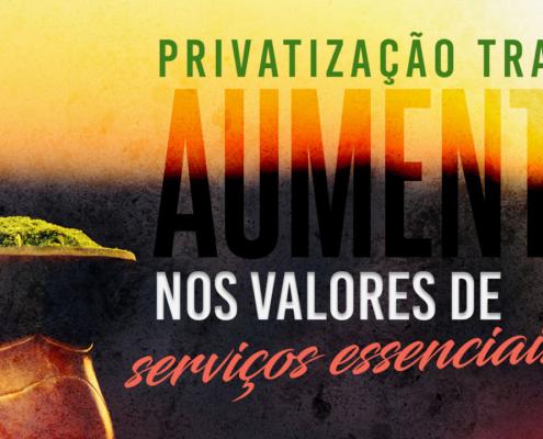 PrivatizaçãoAumentaValores