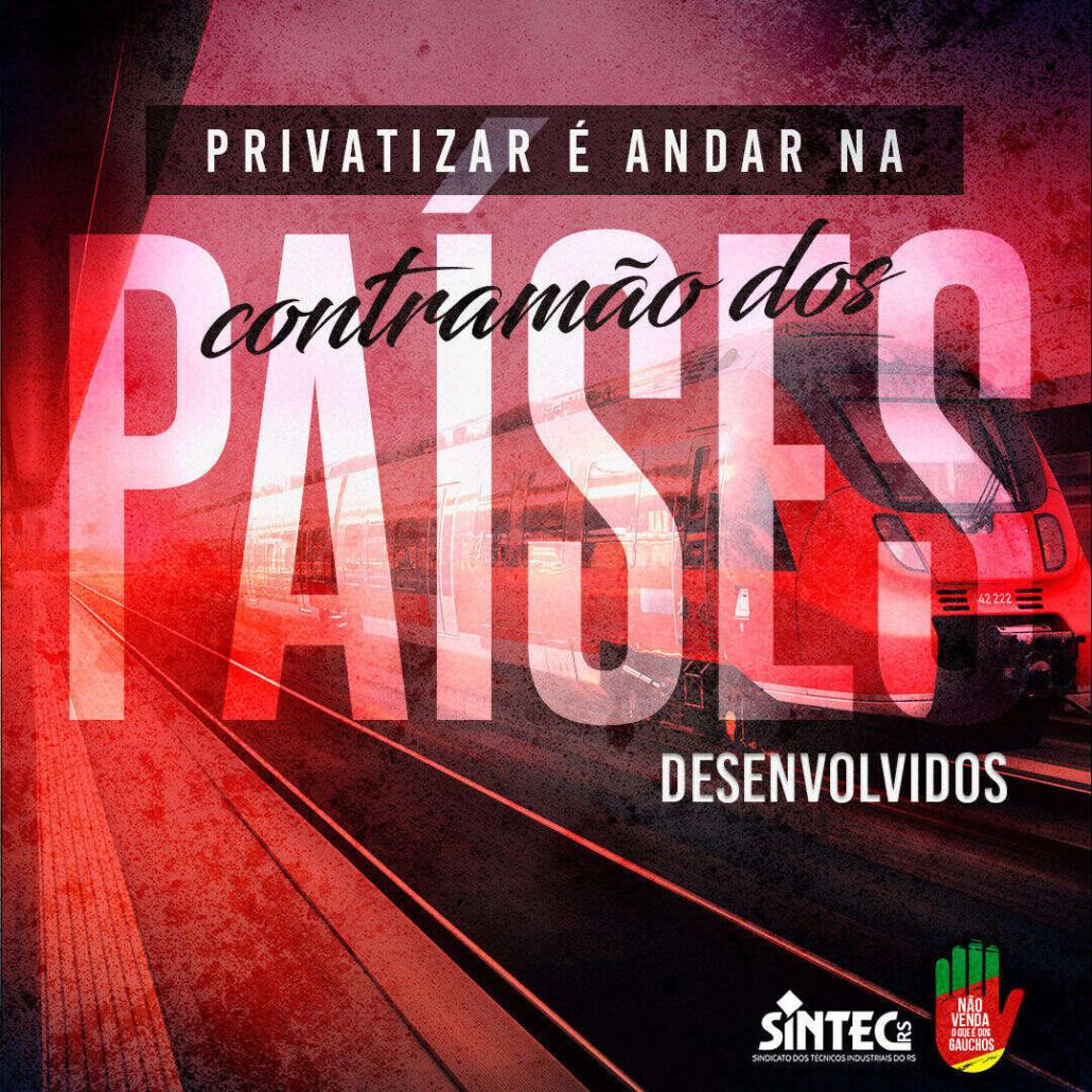 Privatizar é andar na contramão dos países desenvolvidos